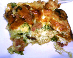 Broccoli and Cheese Strata