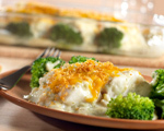 Broccoli and Fish Bake