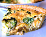 Impossible Broccoli Quiche