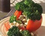 Broccoli-Stuffed Tomatoes