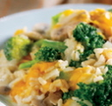 Nutty Brown Rice and Broccoli