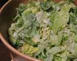 Butter Lettuce Salad with Poppy Seed Dressing