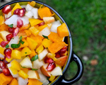 Butternut Squash and Pomegranate Salsa
