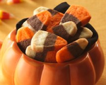 Candy Corn Shaped Cookies