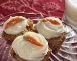 Carrot Breakfast Cake Muffins