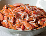 Carrots with Tahini Dressing