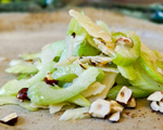 Celery and Toasted Hazelnut Salad