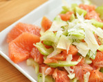Celery Salad with Grapefruit and Parmesan