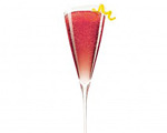 Chambord Kir Royale Cocktail