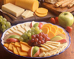 Cheese and Fruit Appetizer Platter