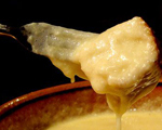 Cheese Fondue with Champagne