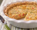 Cheese, Tomato and Spinach Pie
