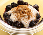 Cherries with Ricotta and Almonds