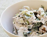 Chicken Salad with Arugula and Toasted Walnuts