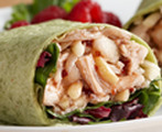 Chutney Chicken Salad Wrap