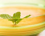 Chilled Melon Minted Soup