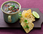 Chipotle Black Bean and Sweet Potato Soup