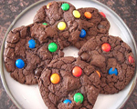 Chocolate Oatmeal Peanut Butter Cookies