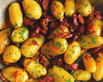 Chorizo, Bacon and Potatoes