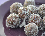 Cinnamon and Sunflower Truffles