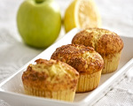 Cinnamon Apple Lemon Muffins