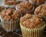 Coconut Pecan Carrot Muffins