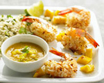 Coconut Shrimp with Mango Dip