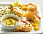Coconut Shrimp with Mango Dip