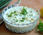 Cool and Creamy Cucumber Yogurt Dip