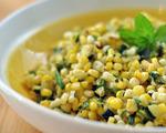Corn, Zucchini and Chive Salad