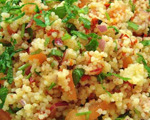 Couscous and Pork Salad