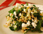 Couscous Salad with Greens and Beans