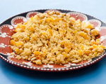 Couscous with Dried Apricots and Pine Nuts