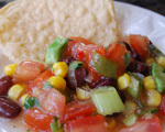 Cowboy Salsa with Black Beans