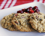 Cranberry Oatmeal Drop Cookies