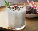 Cream, Cocoa and Tequila Cocktail