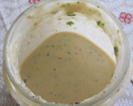 Creamy Cilantro and Tahini Dressing