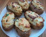 Creamy Chive-Stuffed Potatoes