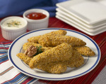 Crunchy Chicken Tenders with Parmesan Cheese