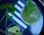 Cucumber Lime Basil Martini