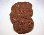Double Chocolate Coffee Cookies