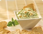Vegetables & Pesto Dip
