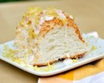 Lemon zest angel food cake