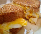 Homemade Egg and Cheese Sandwich