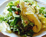 Escarole and Toasted Walnut Salad with Lemon Dressing