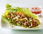 Eva's Chicken and Cashew Lettuce Wraps