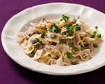 Farfalle with Tuna, Lemon and Capers