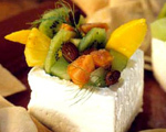Feta and Fruit Appetizer