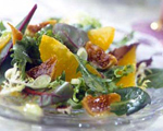 Fig, Orange and Pecan Salad