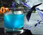 Flying Blue Dragon Cocktail